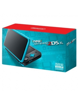 Nintendo New 2DS XL Negro y Turquesa