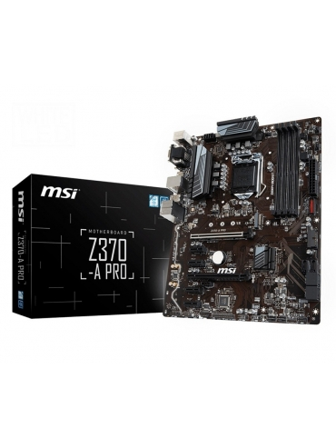 Placa Base MSI Z370-A PRO