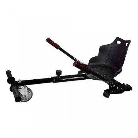 Silla Hoverboard Smart kart Plus Balance Negro