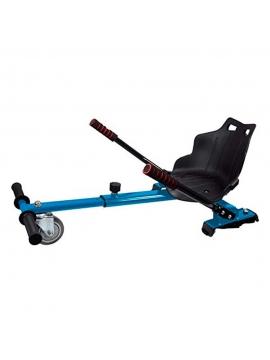 Silla Hoverboard Smart kart Plus Balance Azul