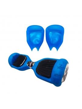 """Funda Silicona Protectora Hoverboard Azul 6,5"""""""