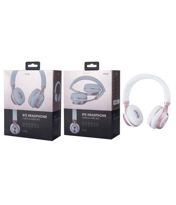 Auriculares MTK Bluetooth BTS con Microfono