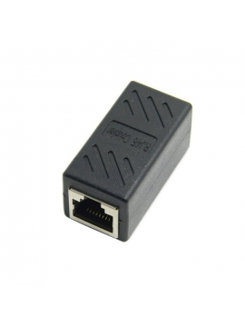 Adaptador RJ45 a RJ45 Empalme de Red Cat6