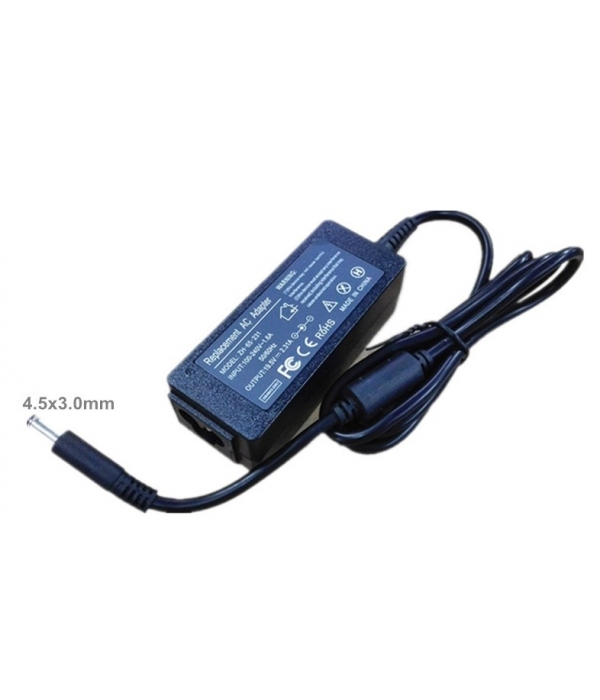 Cargador Portátil Compatible DELL 19,5V 2,31A 4,5X3,0MM