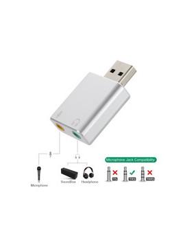 Tarjeta Sonido USB 5HV2 USB 7.1