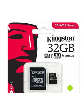 Micro SDHC Kingston 32Gb 80Mb/s