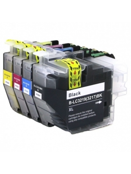 Tinta Compatible Brother LC3219 Amarilla