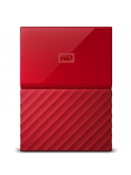 Disco Duro WD My Passport Ultra 4TB USB 3.0 Rojo