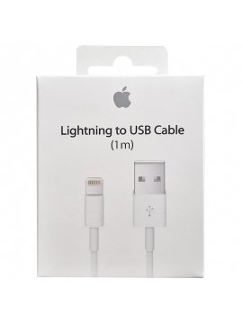 Cable Usb Datos Carga Iphone Ipad Lightning Original