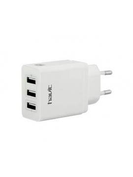 Cargador USB 3 Puertos Havit HV-UC2024