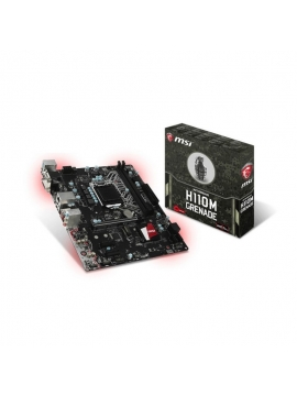 Placa Base MSI 1151 H110M Grenade