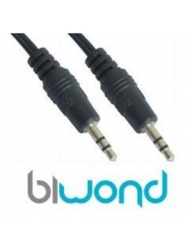 Cable Jack Audio Stereo m-m 0,8m