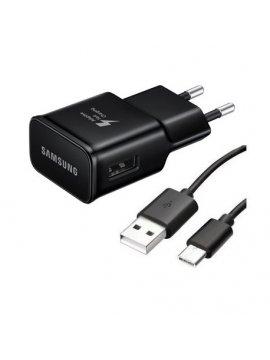 Cargador Original Samsung EP-TA20EWE + Cable Tipo-C
