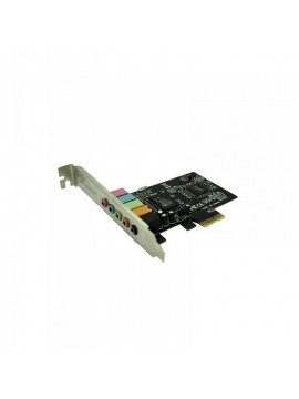 Tarjeta Sonido PCIE 5,1 Aqprox APPPCIE51 (Remanofacturada)