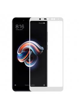 Cristal Templado Xiaomi Redmi Note 5 Full Blanco