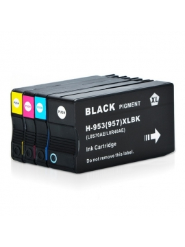 Tinta Compatible HP 953 C XL Cyam