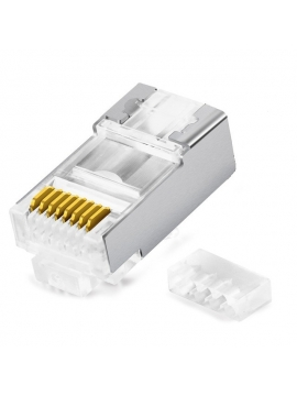 Clavija de RED RJ45 Cat6 Blindado