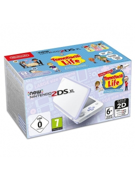 Nintendo New 2DS Blanca + Tomodachi Life