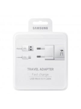 Cargador Original Samsung EP-TA20EWE Carga rapida Micro Usb