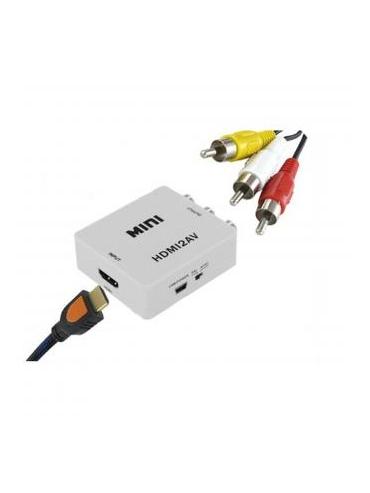 Adaptador HDMI a AV HDMI2AV
