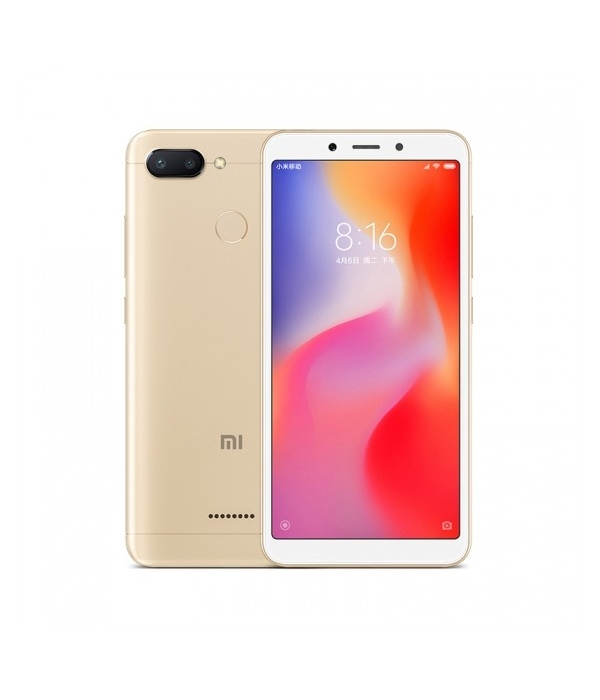 Xiaomi Redmi 6 32Gb 3Gb Gold