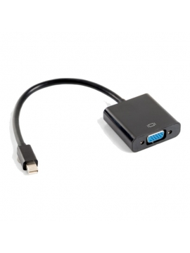 Adaptador Mini DisplayPort 1,2  A Vga lanberg AD-0006-BK