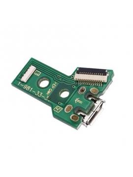 Placa carga + conector USB Mando Dualshock 4 PS4 JDS-040/ 050/ 055