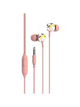Auriculares Havit Estampados Con Manos Libres HV-E58P Rosa