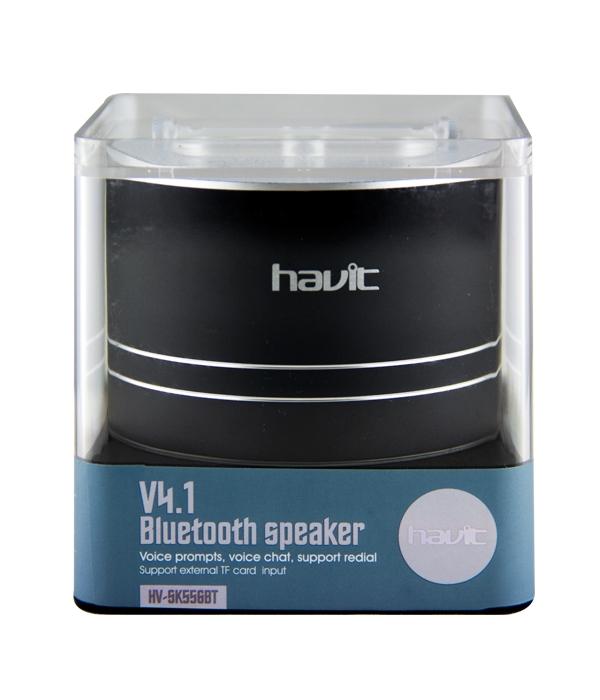 Altavoz Bluetooth V4.1 TF Manoslibres Vaso HV-SK556BT Negro