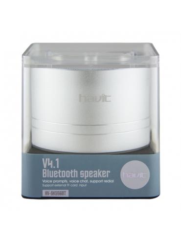 Altavoz Bluetooth V4.1 TF Manoslibres Vaso HV-SK556B Gris