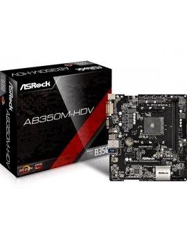 Placa Base AM4 Asrock AB350M-HDV