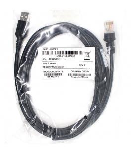 Cable Usb Lector de Codigos de Barras Honeywell Metrologic