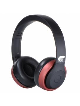 Auricular Bluetooth 4,1 Fonestar Harmony Negro Rojo