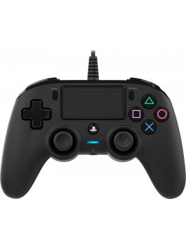 Mando Ps4 Compatible Nacon Wired Negro