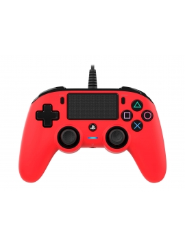 Mando Ps4 Compatible Nacon Wired Rojo