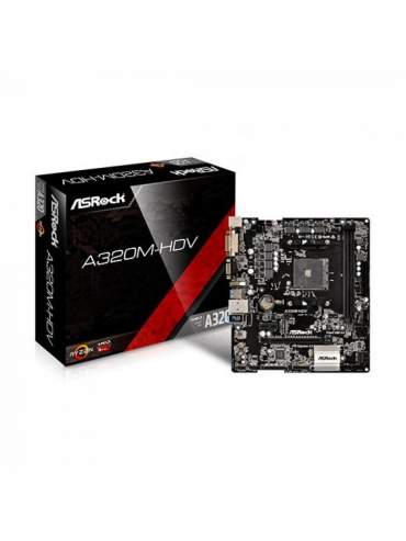 Placa Base AM4 Asrock A320M-HDV