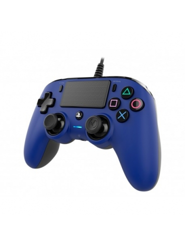 Mando Ps4 Compatible Nacon Wired Azul