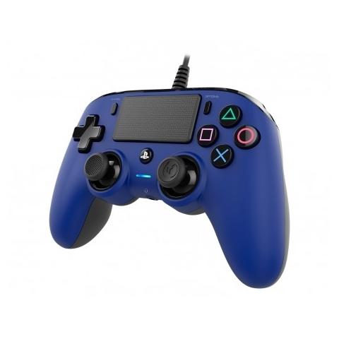 Mando Ps4 Compatible Nacon Wired Azul