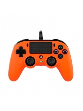 Mando Ps4 Compatible Nacon Wired Naranja