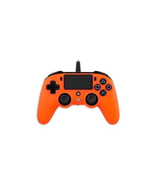 Mando Ps4 Compatible Nacon Wired Naranja