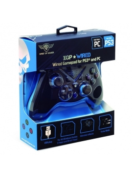 Gamepad Spirit Of Gamer Xgp Player Wired 12 Botones Compatible Pc/ps3