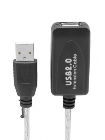 Cable Usb Prolongador Activo 5m.