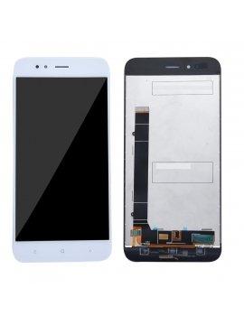 Pantalla completa LCD display digitalizador tactil para Xiaomi Mi A1 / 5X, blanca