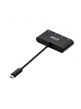 Adaptador USB-C a 4 USB 3.0