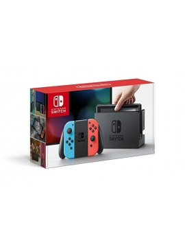 Nintendo Switch Azul Neon Rojo Neon (Version Importada)