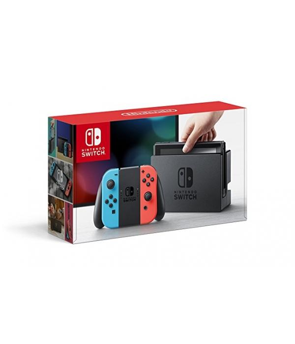 Nintendo Switch Azul Neon Rojo Neon (Version Importada)