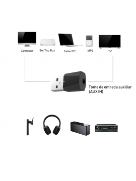 Transmisor Bluetooth DD00769 Para Tv
