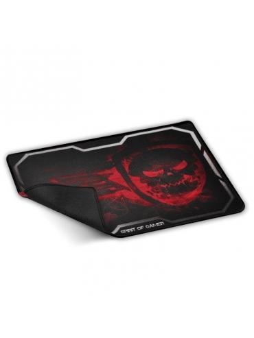 Alfombrilla Spirit of Gamer Smokey Skull Red Tama?o Xl