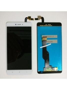 Pantalla completa LCD display digitalizador tactil para Xiaomi Redmi Note 4X, blanca