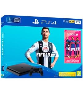 Sony PS4 PlayStation 4 Slim (Chasis F) 1TB + FIFA 19